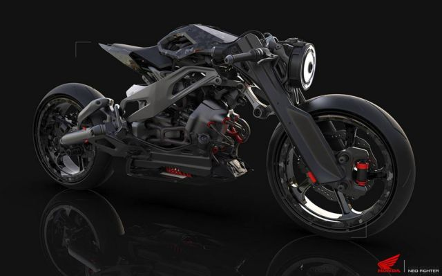 Honda Neo Fighter concept motorcycle