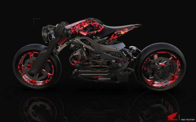 Honda Neo Fighter concept motorcycle (3)