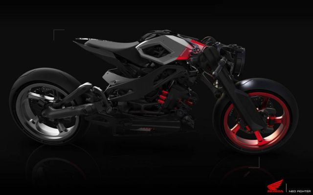 Honda Neo Fighter concept motorcycle (2)