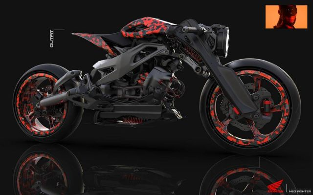 Honda Neo Fighter concept motorcycle (12)
