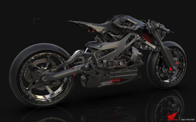 Honda Neo Fighter concept motorcycle (11)
