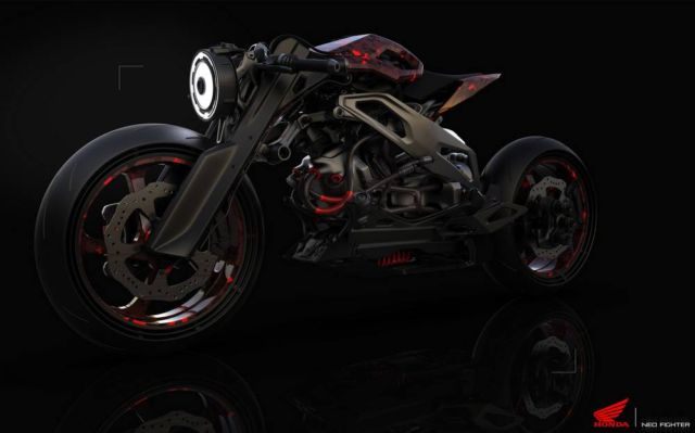 Honda Neo Fighter concept motorcycle (10)