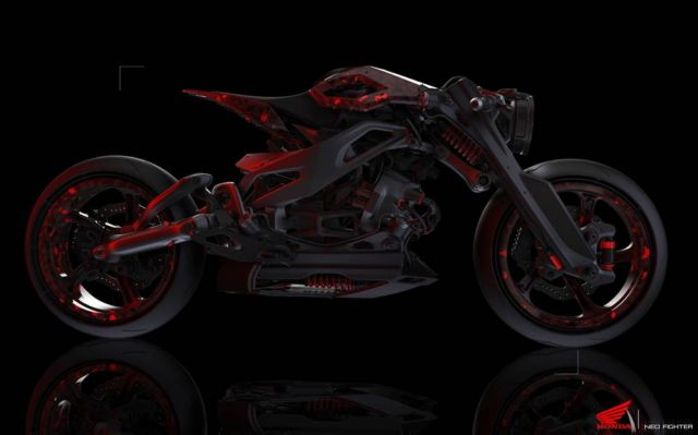 Honda Neo Fighter concept motorcycle (7)
