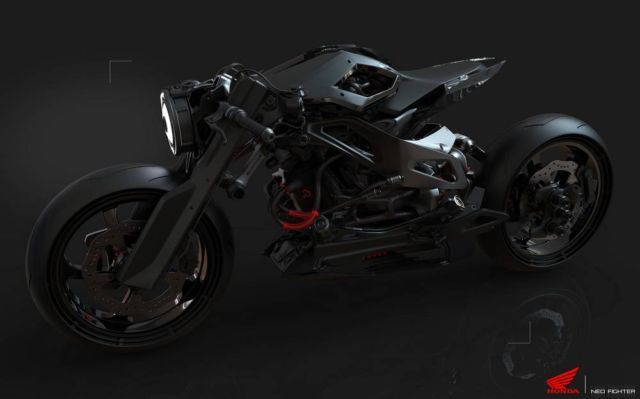 Honda Neo Fighter concept motorcycle (6)