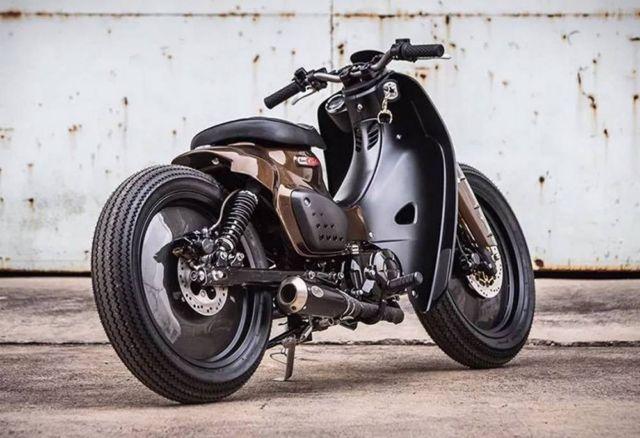 K-Speed Honda Super Cub Motorcycle (3)