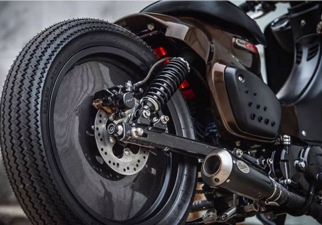 K-Speed Honda Super Cub Motorcycle (1)