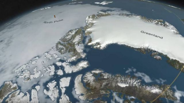 Massive Crater Under Greenland Ice discovered (1)
