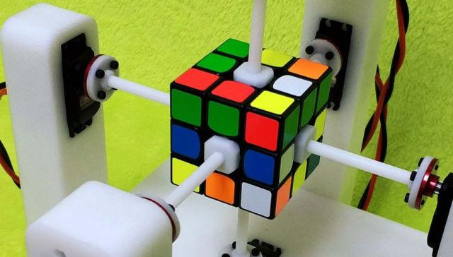 MasterP 0.337s super high speed cube robot