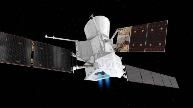 Most Powerful Ion Drive ever to Blast a Spacecraft