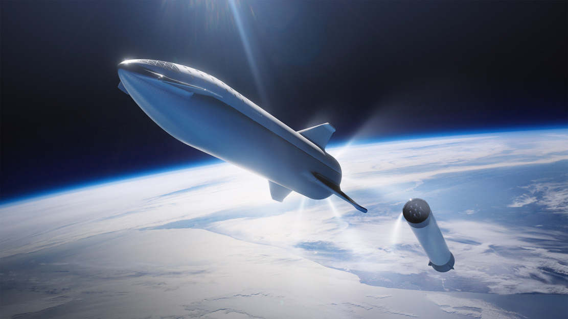 SpaceX's Stainless Steel Starship (1)