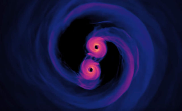 Spiraling Supermassive Black Holes