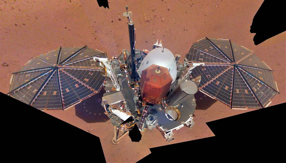 The first full selfie from NASA InSight lander on Mars