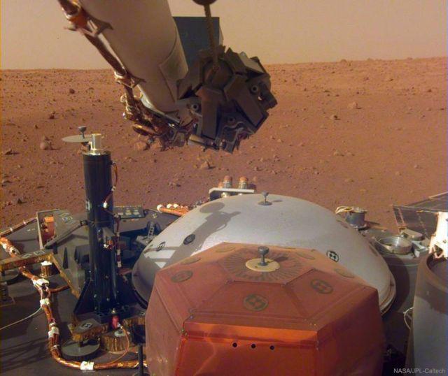 The first full selfie from NASA InSight lander on Mars