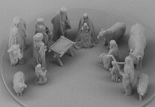 The smallest Nativity Scene