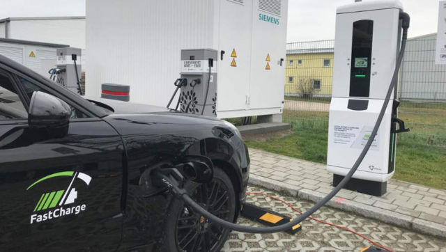 Ultra-high-power charging technology for the electric vehicle
