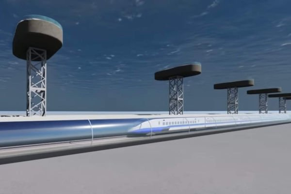Underwater Bullet Train from UAE to India