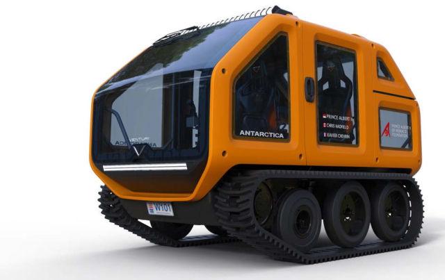 Venturi Mission Electric Antarctic Rover