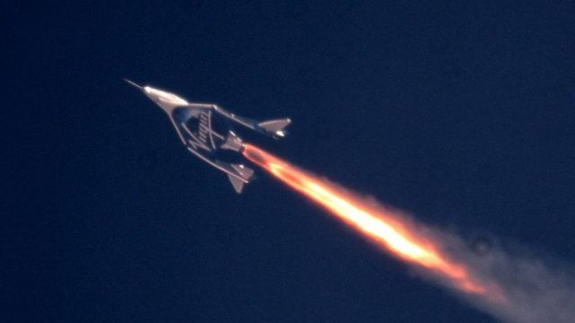 Virgin Galactic goes to Space