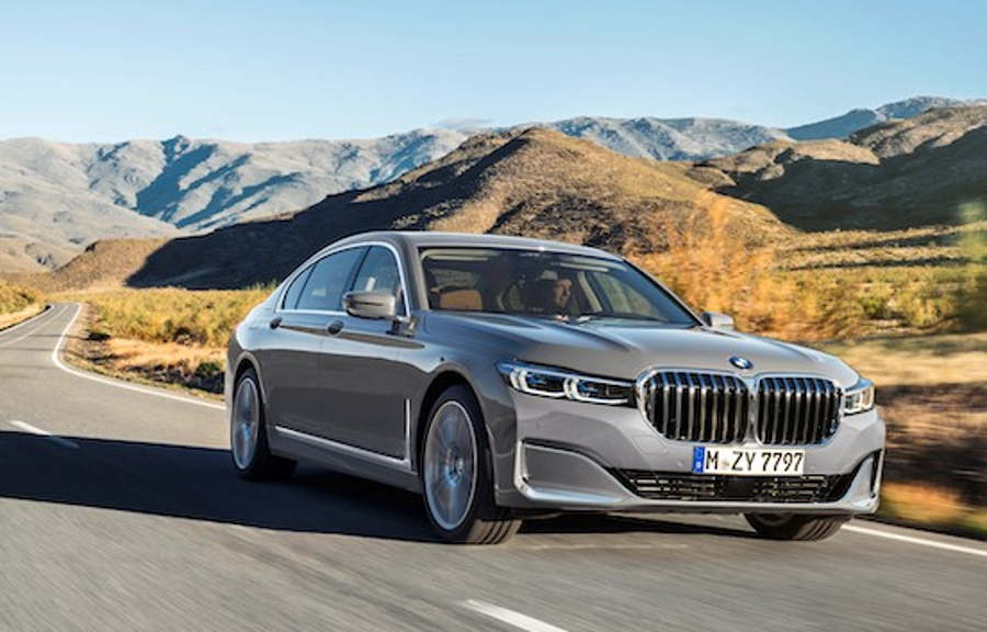 2020 BMW 7 Series on video