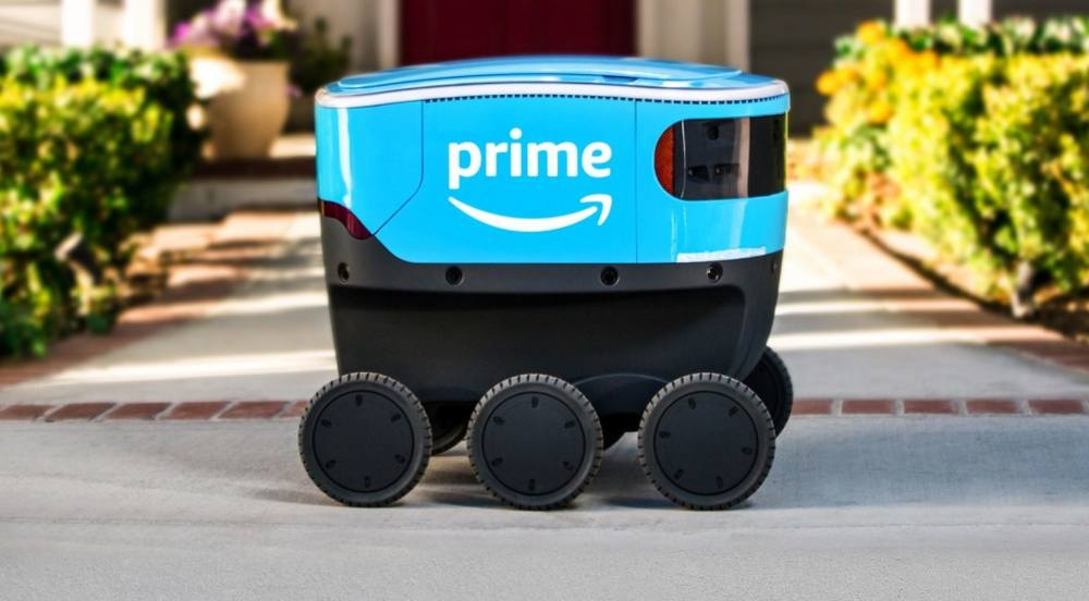 Amazon Scout- the Autonomous Blue Delivery bot