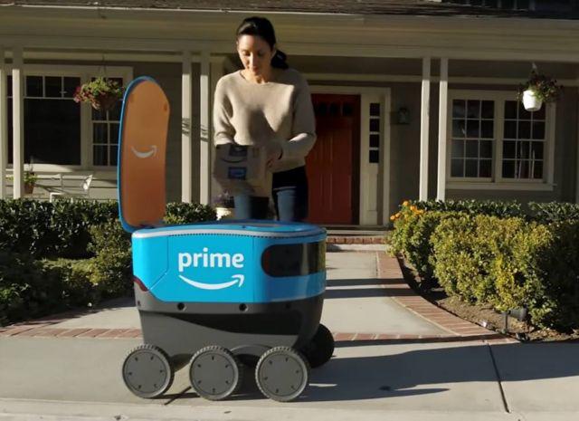 Amazon Scout- the Autonomous Blue Delivery bot