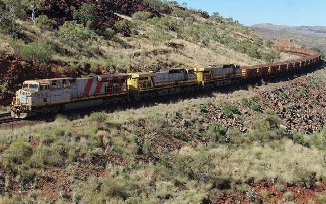 Australia's Autonomous Train is the world's largest robot