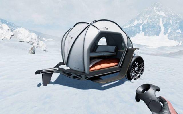 BMW - North Face Futurelight Camper (2)