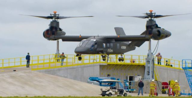 Bell V-280 Valor reaches 280 Knots true airspeed