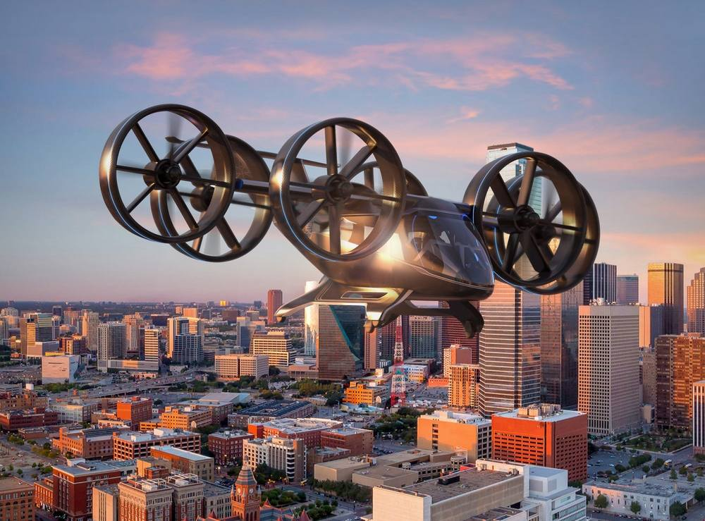 Bell tilt-rotor Air Taxi concept (5)