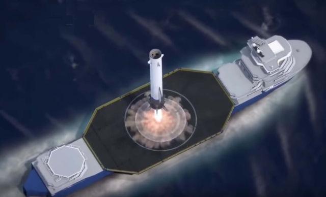 Blue Origin's New Glenn Rocket animation