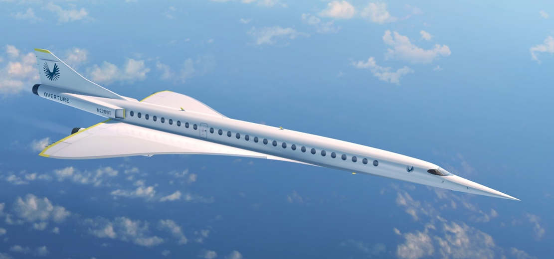 Boom Supersonic passenger airplane (1)