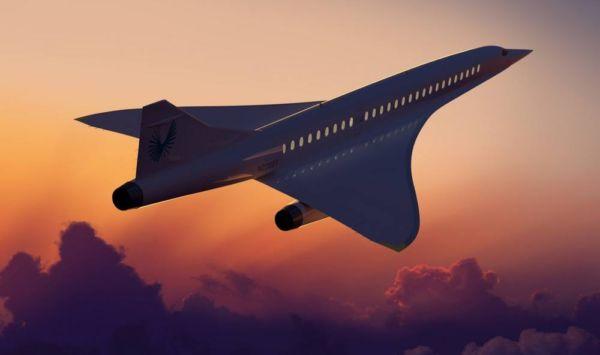 Boom Supersonic passenger airplane (9)