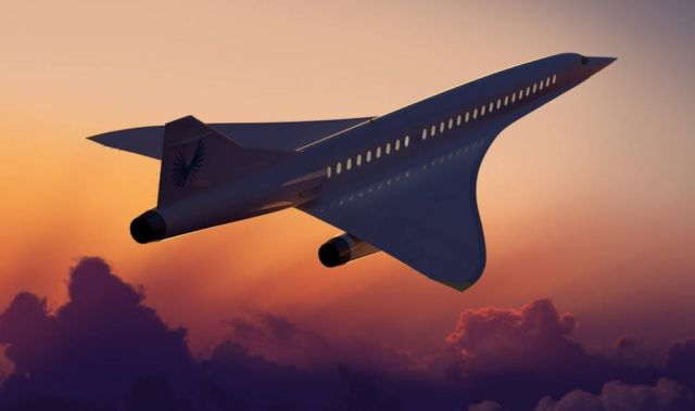 Boom Supersonic passenger airplane (9)