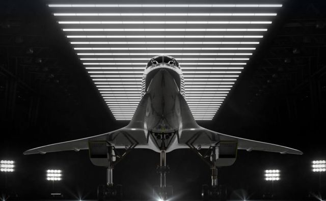 Boom Supersonic passenger airplane (8)