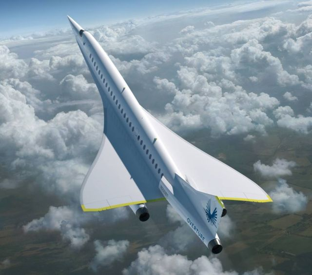 Boom Supersonic passenger airplane (6)