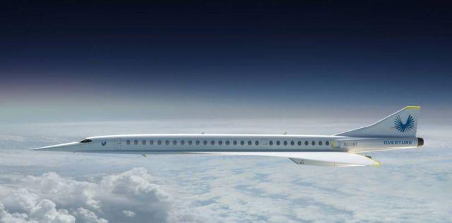 Boom Supersonic passenger airplane (5)