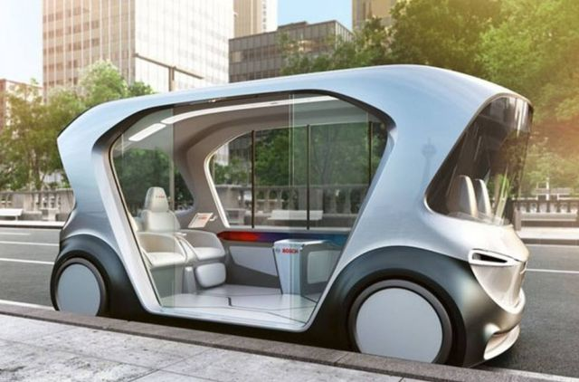 Bosch Autonomous Electric e-Shuttle