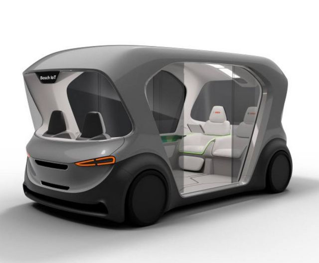 Bosch Autonomous Electric e-Shuttle (2)