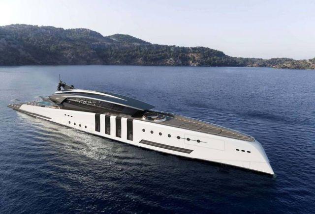 Eleuthera 100 m superyacht