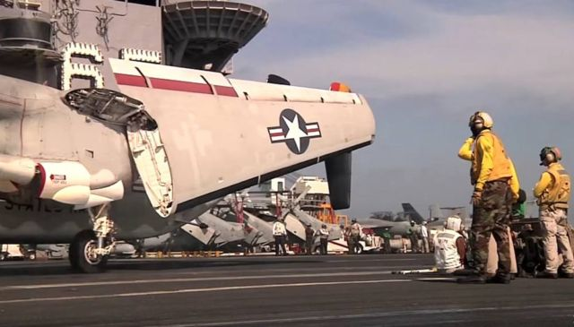 Flight operations compilation from deck of the Super-Carrier USS Enterprise