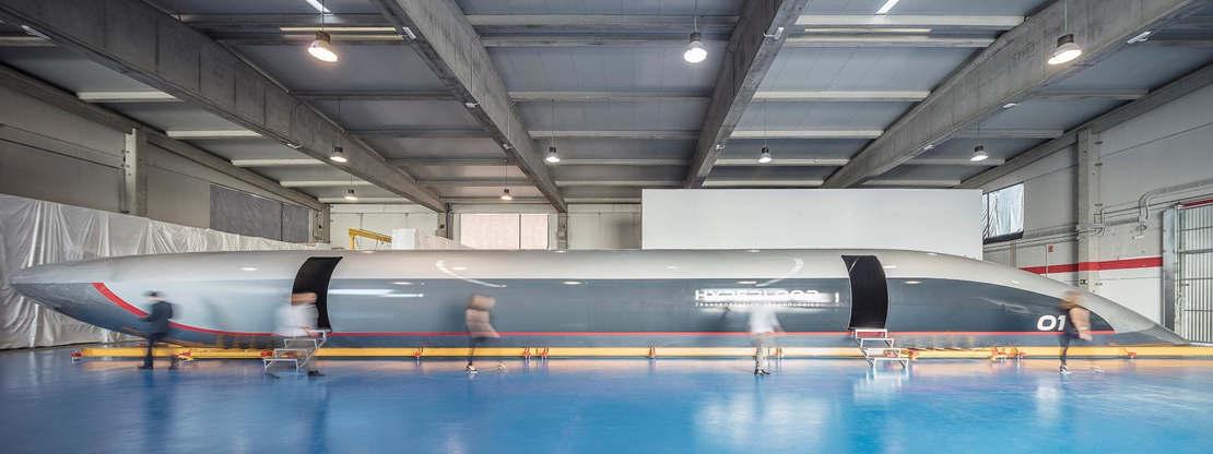 HyperloopTT capsule 'Quintero One' (1)