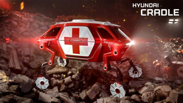 Hyundai Walking Car Concept (2)