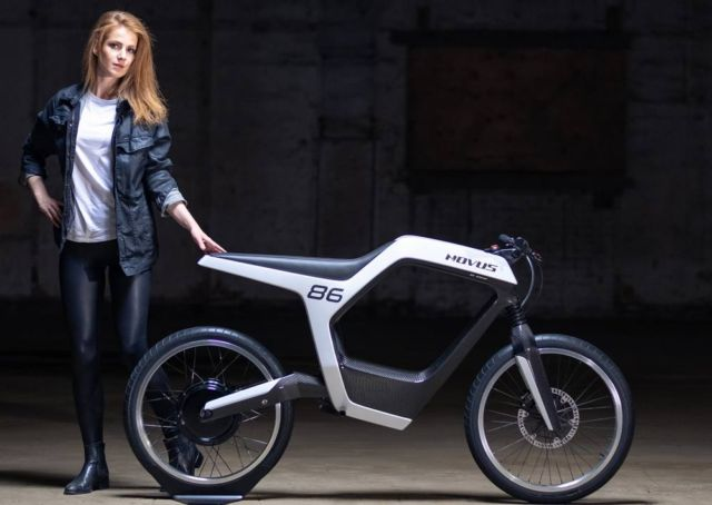 Novus stylish electric motorbike (5)
