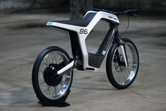 Novus stylish electric motorbike (2)