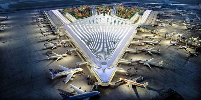 Santiago Calatrava's proposal for Chicago O'Hare Airport
