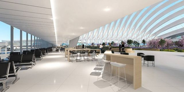 Santiago Calatrava's proposal for Chicago O'Hare Airport (2)