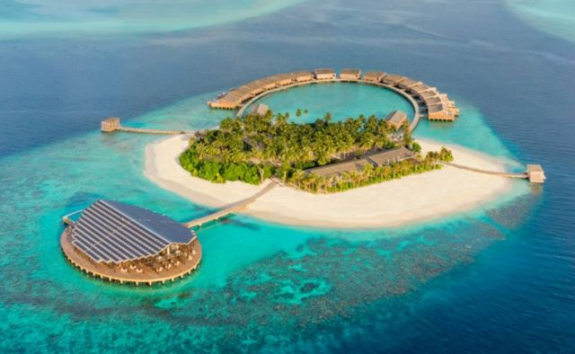 Solar-Powered Kudadoo Maldives Private Island