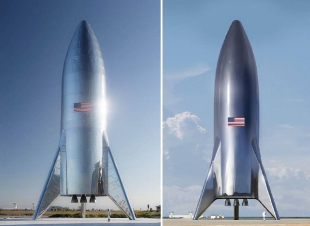 SpaceX has assembled Starship Hopper