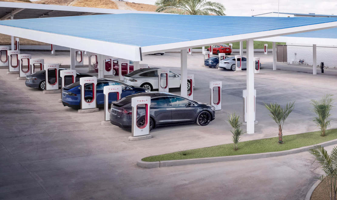 Supercharger coverage will extend to 100% of Europe this year
