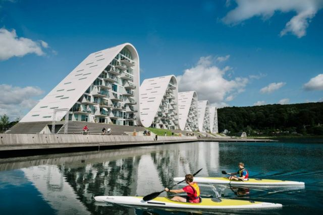 The Wave residential project in Vejle